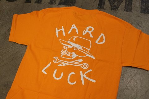 Hard Luck - OG T-Shirt Laranja