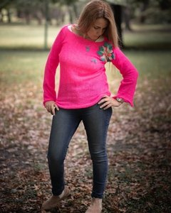 SWEATER VENECIA BORDADO COLORES
