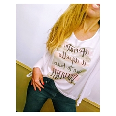 Remera Frases R17