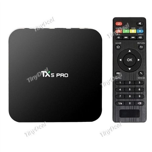 Tx5 Pro Android 6.0 Melcocha Tv Caja Amlogic S905x As