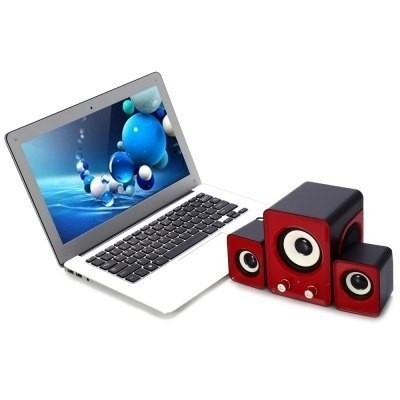 Bosina Ofnote Yd - Up 2.1 Usb Portable Mini Speaker As - comprar online
