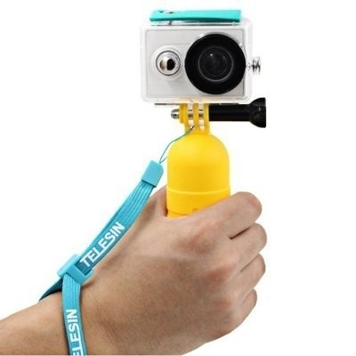 Telesin Yi Hand Held Floaty Grip Para Xiaomi  - Amarillo As