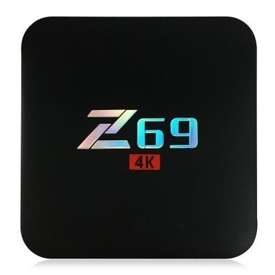 Z69 Tv Box Amlogic S905x Quad-core Cpu Android 6.0 Os As