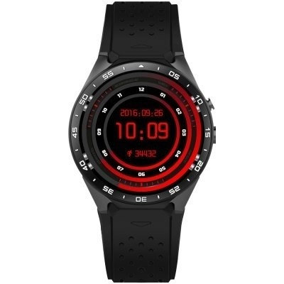 Kingwear Kw88 3g Smartwatch Teléfono  -  Negro As Colo Mix