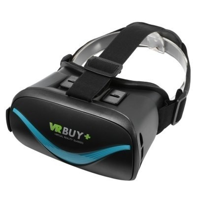 Vr Buy+ Bluetooth 4.0 Virtual Reality Glasses - Azul As - comprar online