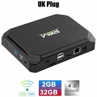 Rikomagic Rkm Mk36s Tv Box Cereza Trail Z8300 Windows 10  As