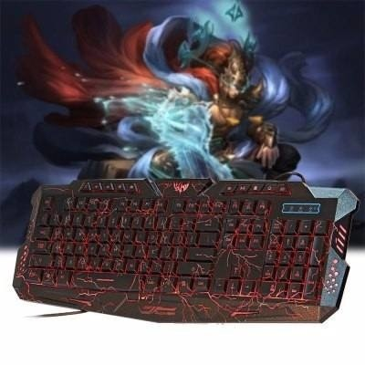 M-200 3 Colors Backlight Wired Gaming Keyboard For Windows - comprar online