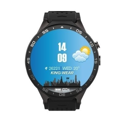 Kingwear Kw88 3g Smartwatch Teléfono  -  Negro As Colo Mix - Mrtableta II