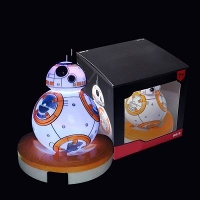 Lampara Bb - 8 Rc Robot Animado Figura Modelo Led - Mix As - comprar online