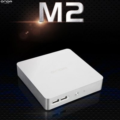 Onda M2 Mini Pc - Silver, As.