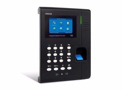 37bd60b692d4 Control Reloj Horario Personal Asistencia Anviz Huella C2 Ws