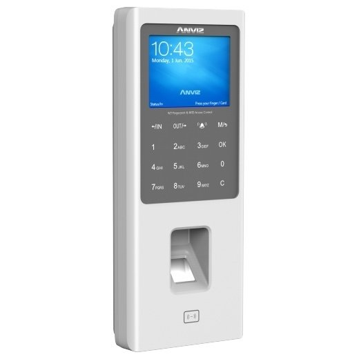 4bf75f725fc0 Control Personal Biometrico Asistencia Anviz Huella W2 Rfid