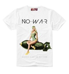 Camiseta No War - Cabana