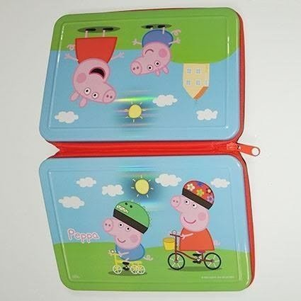 CARTUCHERA PEPPA PIG 1 PISO