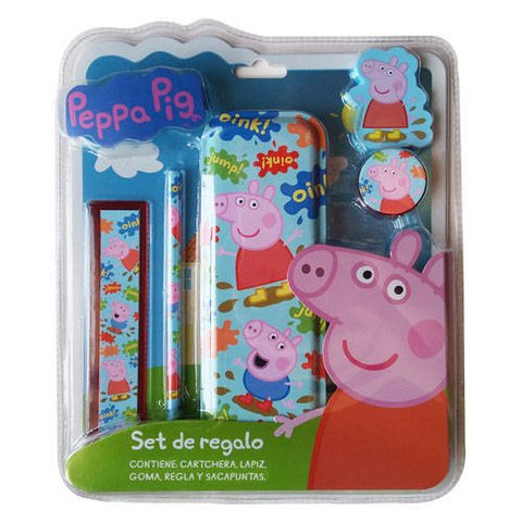 SET ESCOLAR PEPPA PIG