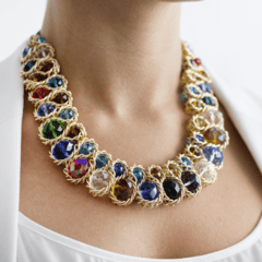 Collar Perla Multicolor