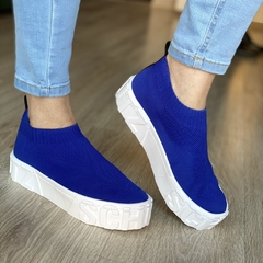 Tênis Knit Royal Blue - SCHUTZ