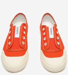 Sneaker Smash Canvas Orange - SCHUTZ
