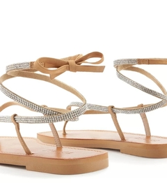 Flat Lace-Up Glam Honey - SCHUTZ