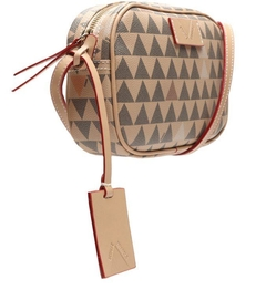 BOLSA CROSSBODY KATE NEW TRIANGLE AMENDOA - SCHUTZ