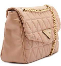 SHOULDER BAG MATELASSÊ MAXI NEUTRAL - SCHUTZ