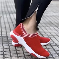 Tênis Knit Minimal Red - SCHUTZ