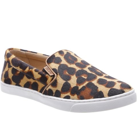 Tenis Slip On Animal Print - ANACAPRI