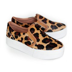 Tênis Slip On Animal Print - QUATTRO