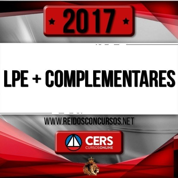 Combo: Complementares + LPE [2017]