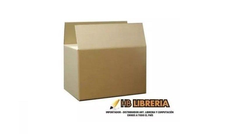 Caja de cartón mudanza Stendy  60x40x20 cm