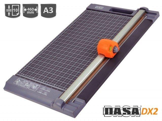CIZALLA ROTATIVA DASA DX2 4 en 1 A3 - 46 cm Corte/Troquel/Ondas/Plegado