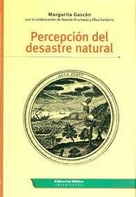 Percepción del desastre natural