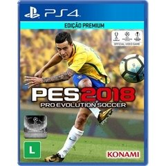 PRO EVOLUTION SOCCER (PES) 2018 KONAMI - PS4