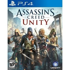 ASSASSINS CREED UNITY UBISOFT - PS4