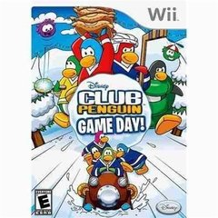 CLUB PENGUIN GAME DAY DISNEY - WII