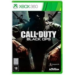 CALL OF DUTY BLACK OPS ACTIVISION - X360