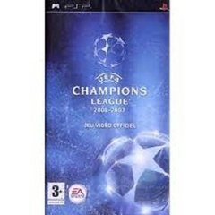 UEFA CHAMPIONS LEAGUE 2006 - 2007 EA - PSP