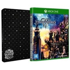 KINGDOM HEARTS 3 + BRINDE STEELBOOK XONE