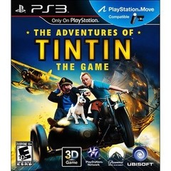 THE ADVENTURES OF TINTIN THE GAME UBISOFT - PS3