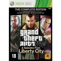 GRAND THEFT AUTO IV & EPISODES FROM LIBERTY CITY ROCKSTAR - X360