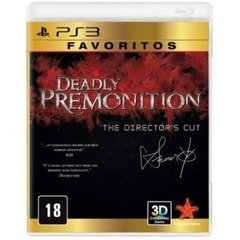 DEADLY PREMONITION: THE DIRECTOR'S CUT RISING STAR - PS3 - comprar online