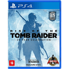 RISE OF THE TOMB RAIDER CRYSTAL DYNAMICS - PS4