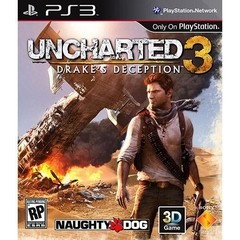 UNCHARTED 3 DRAKE'S DECEPTION NAUGHTY DOG - PS3