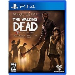 THE WALKING DEAD: GAME OF THE YEAR EDITION TELLTALE - PS4