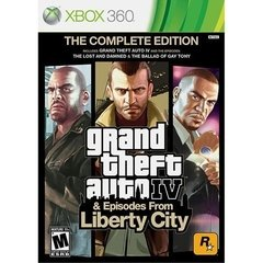 GRAND THEFT AUTO IV & EPISODES FROM LIBERTY CITY ROCKSTAR - XBOX 360 - comprar online
