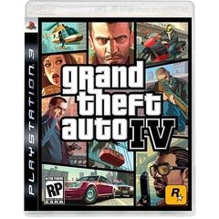 GRAND THEFT AUTO IV ROCKSTAR - PS3
