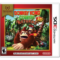 DONKEY KONG COUNTRY RETURNS 3D NINTENDO - 3DS - comprar online
