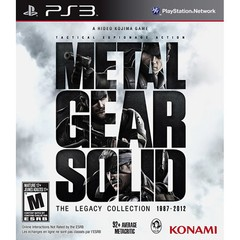 METAL GEAR SOLID: THE LEGACY COLLECTION KONAMI - PS3