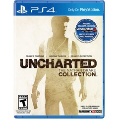 UNCHARTED THE NATHAN DRAKE COLLECTION NAUGHTY DOG - PS4