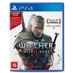 THE WITCHER 3 WILD HUNT CD PROJEKT RED - PS4